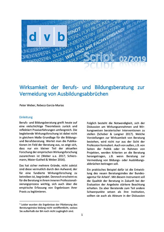 "Heft-Cover ""dvb-Script"" (neue Edition)"