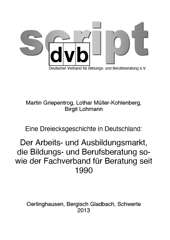 "Heft-Cover ""dvb-Script"" (alte Edition)"